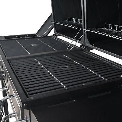 Dual Fuel Grill Outdoor Cooking