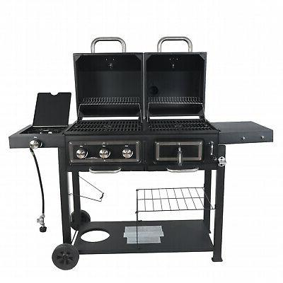 Dual Grill Combination Cooking Family