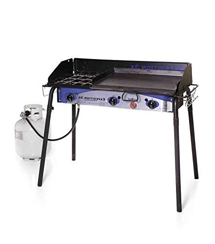 expedition triple burner stove