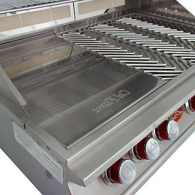 Cal Flame 5-Burner Built-In Propane Gas BBQ Grill