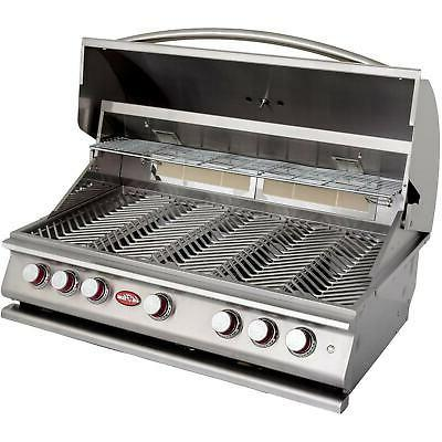 Cal P5 39-Inch 5-Burner Built-In Propane BBQ Grill With