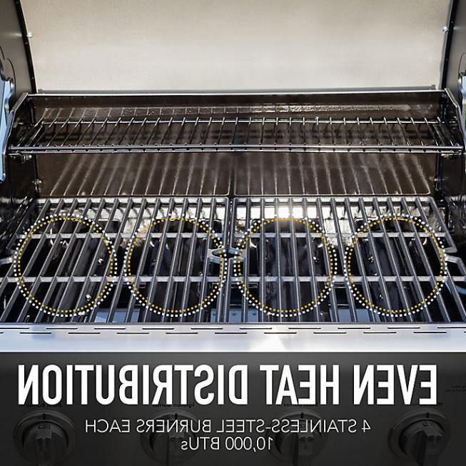 Kenmore 4-Burner Grill with Side