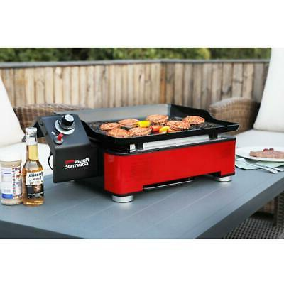 Table Top Gas Griddle Grill Stainless Steel Portable 1 Burne