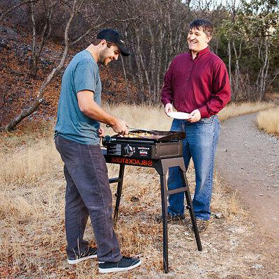 Portable Propane Griddle Camping Picnic