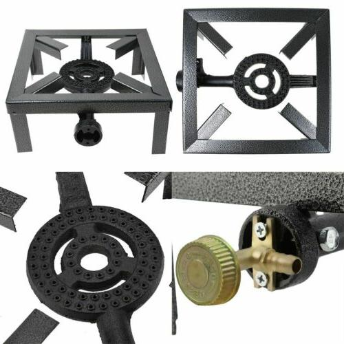 Portable Gas Outdoor Camp Stove Grill Chic