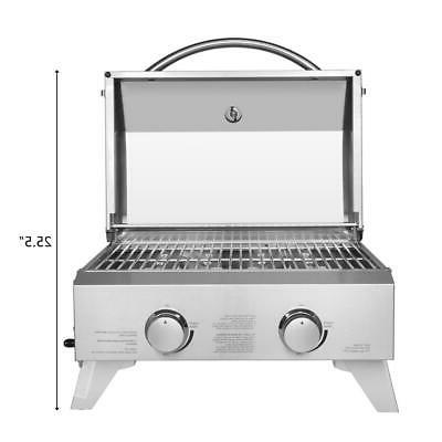Outdoor Portable Stainless Propane Gas Burner BBQ