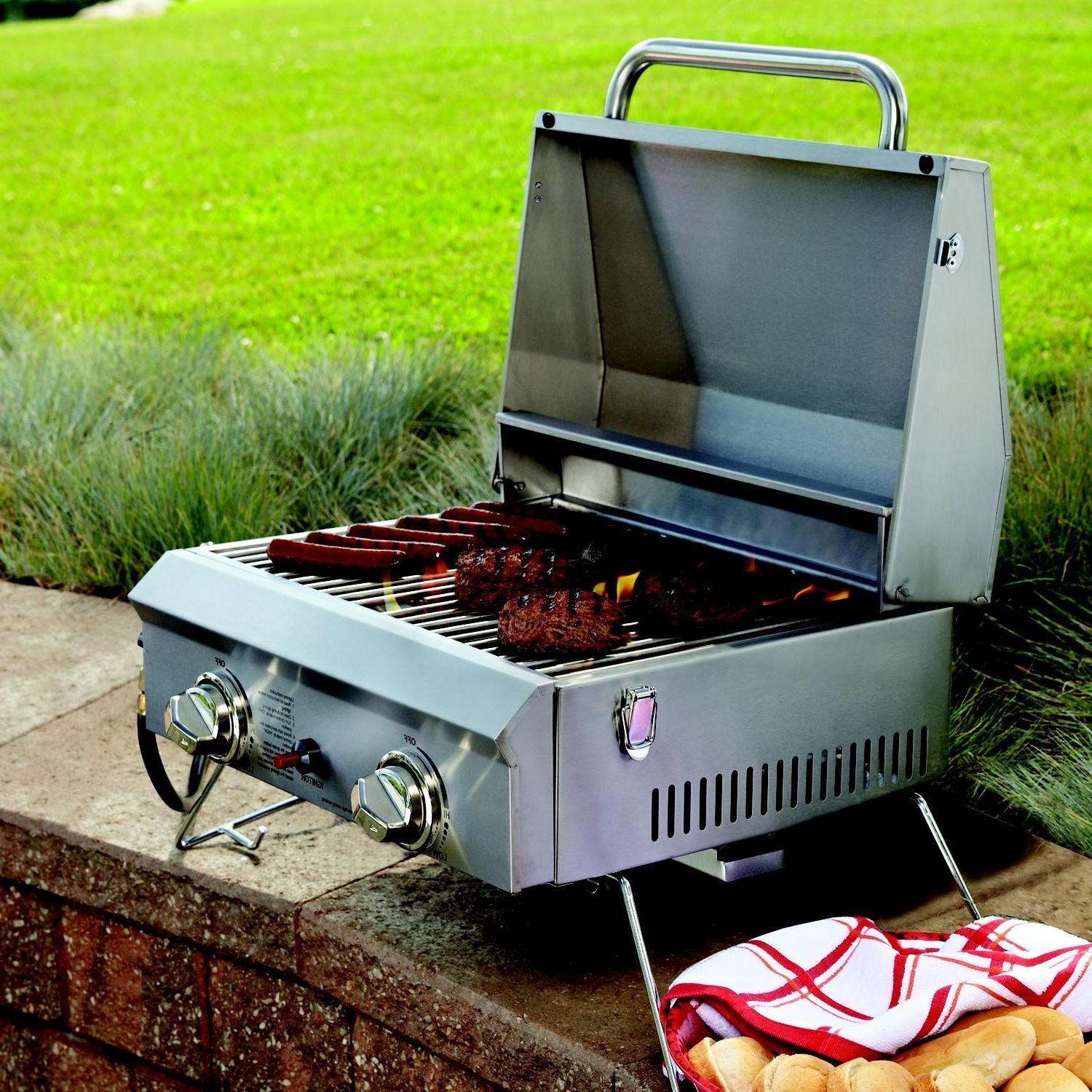 OUTDOOR 2 BURNERS GRILL COVER BTU
