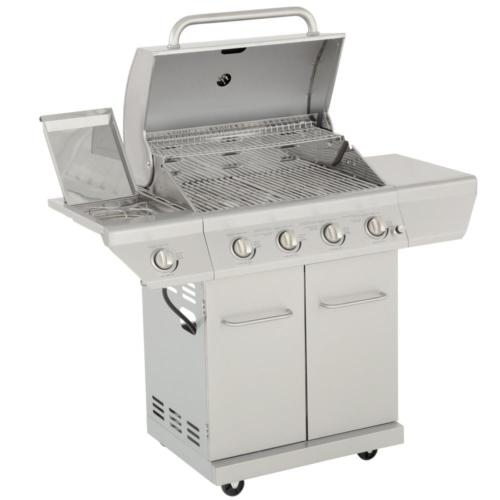 Propane Gas Grill in Side