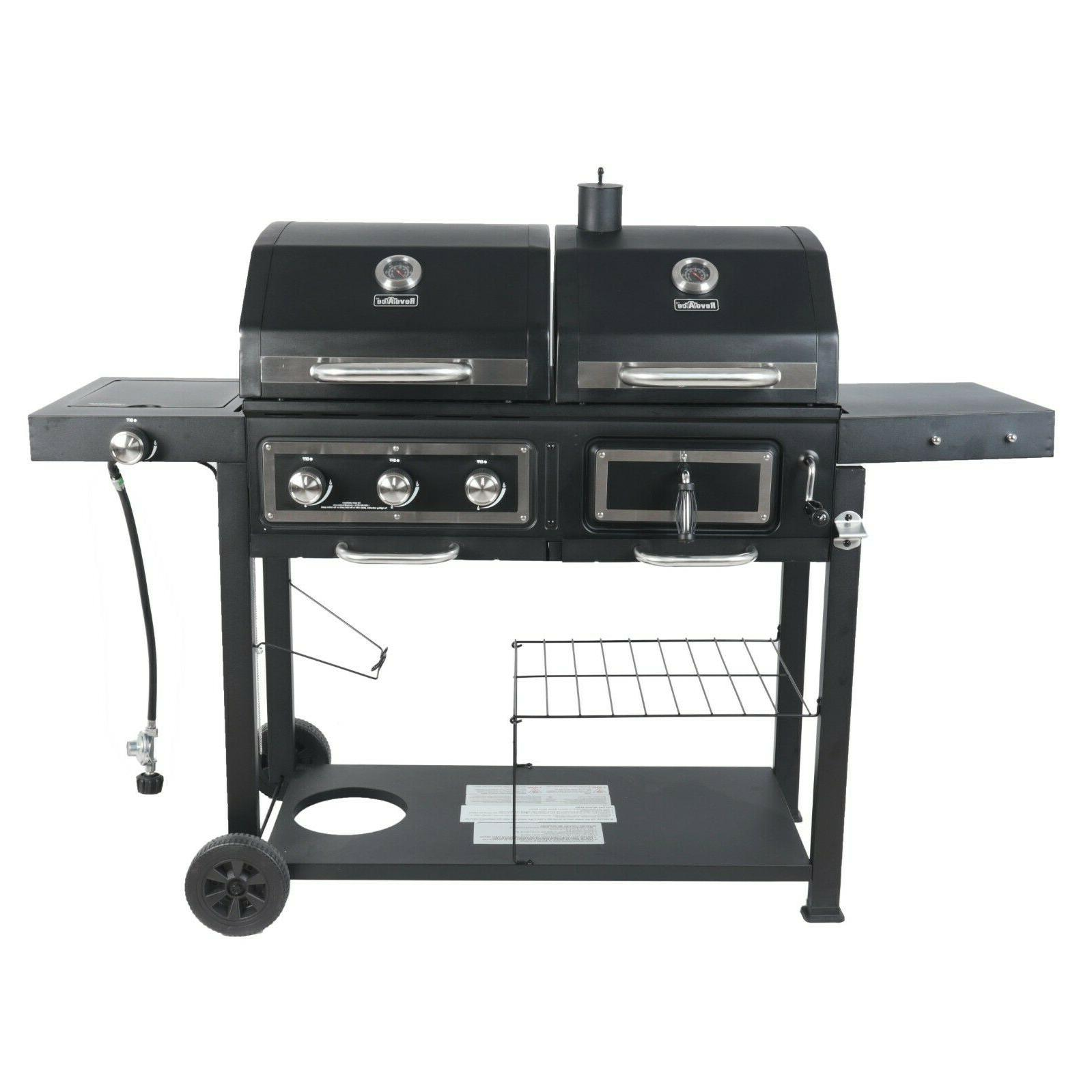 RevoAce Charcoal and Gas Stainless Outdoor BBQ USA