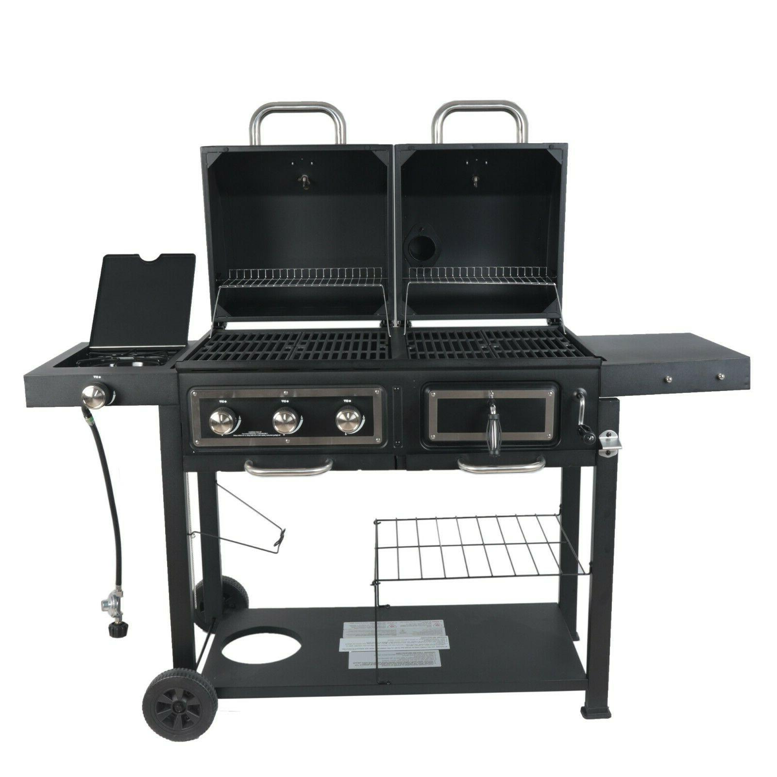 RevoAce Charcoal Gas Stainless Steel USA