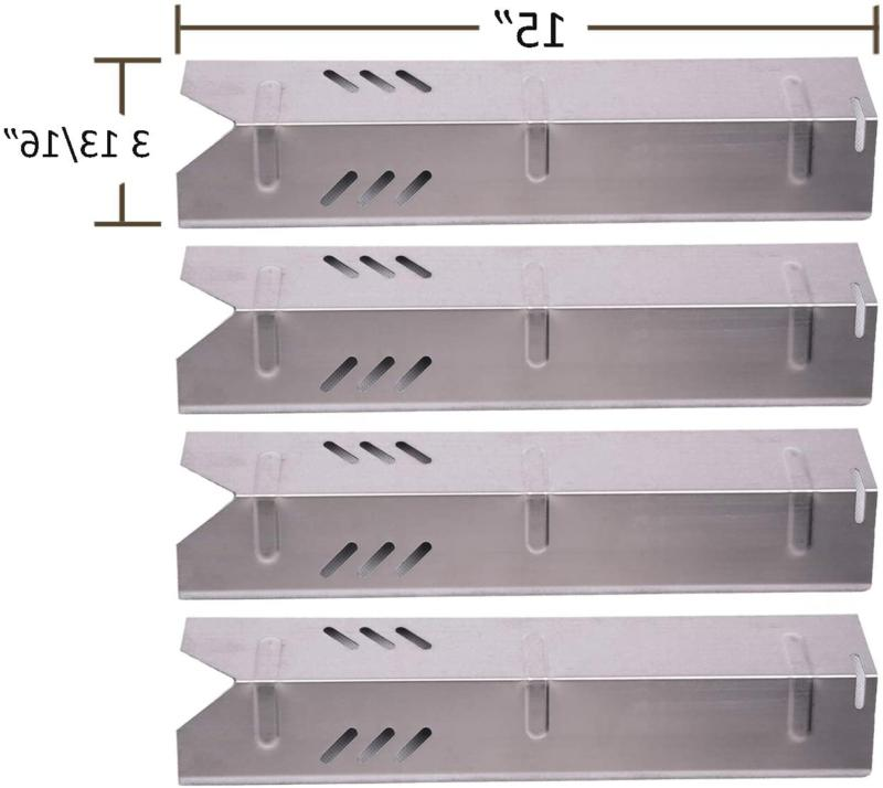 Bbq Funland Sh1591  Stainless Steel Heat Plate For Gas Grill