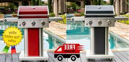 Member's Mark 3-Burner Gas Grill with SS Foldable Side Shelv