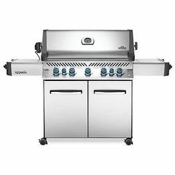 Napoleon Prestige 665 Propane Gas Grill On Cart with Infrare