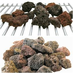 Natural Lava Rocks Grilling Barbecue Outdoor Cooking Gas Gri