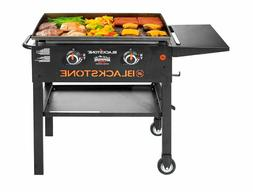 Outdoor Propane Gas Grill Griddle Cooking Station 2 Burner P