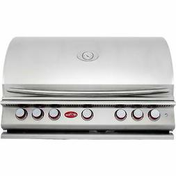 Cal Flame P5 39-Inch 5-Burner Built-In Propane Gas BBQ Grill