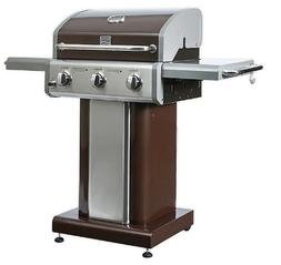 Kenmore PG-4030400L 3-Burner Propane Gas Grill in Stainless
