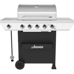 propane gas grill porcelain cast iron cooking