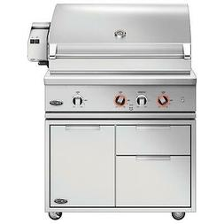 DCS Series 9 Evolution 36-Inch Propane Gas Grill With Rotiss