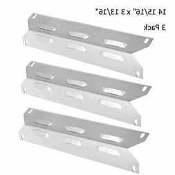 BBQ funland SH62213-pack Stainless Steel Heat Plate Replacem