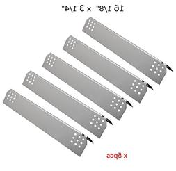 SH7451  Stainless Steel Heat Plates Replacement for Gas Gril