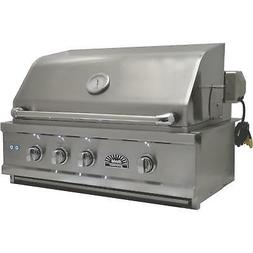 Sole Luxury 42-Inch Built-In Natural Gas Grill With Rotisser
