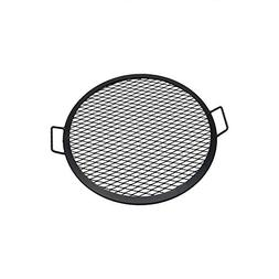Sunnydaze X-Marks Fire Pit Cooking Grill, 22 Inch Diameter