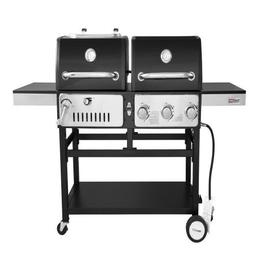 Royal Gourmet ZH3003 Dual 3-Burner Gas and Charcoal Grill Co